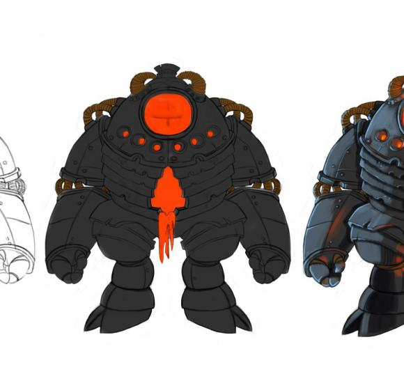 Concept main character