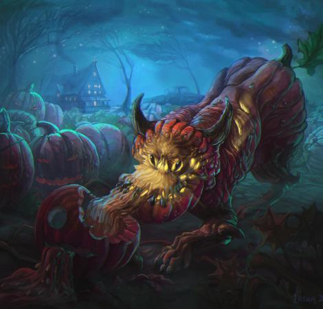 Pumpkin moster