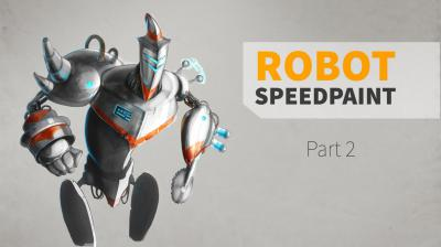 ROBOT SPEEDPAINT/ Part 2