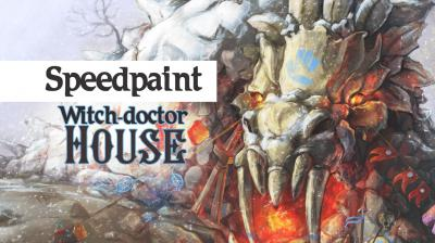 Speedpaint. Witch-doctor House